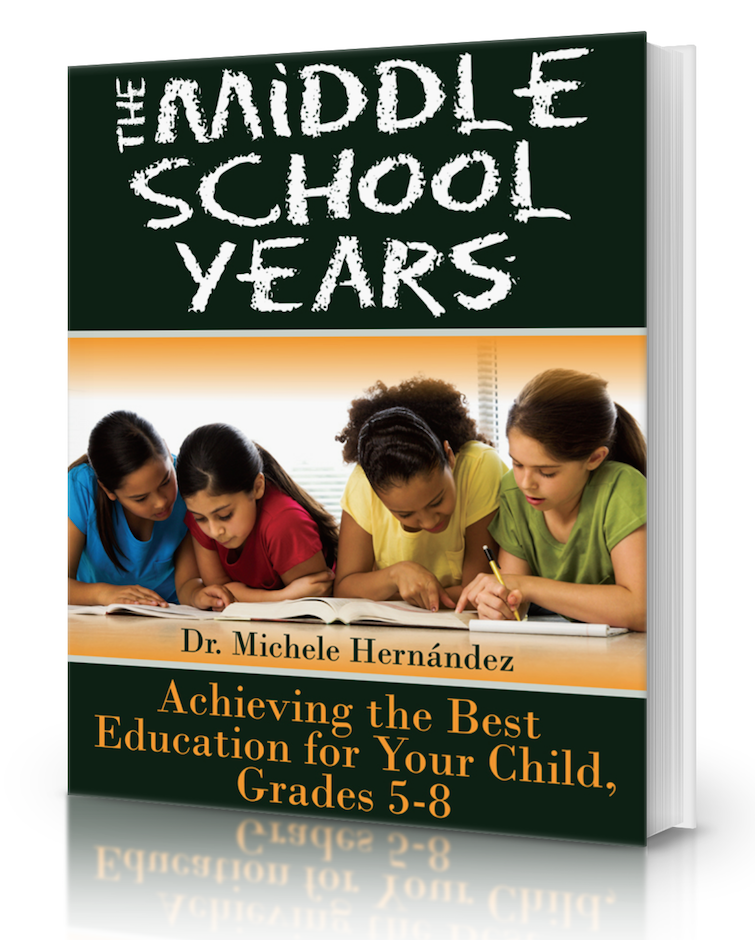 Middle School Years - College Prep Guide Book