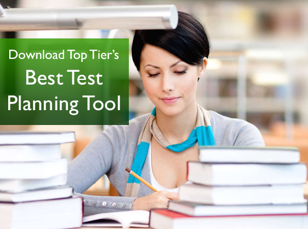 Be prepared and conquer the SAT's, Subject Tests, APs and ACT with our 'Personalized Testing Strategy Template'
