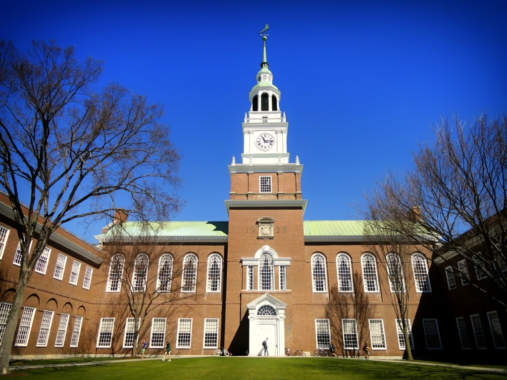 dartmouth college admissions