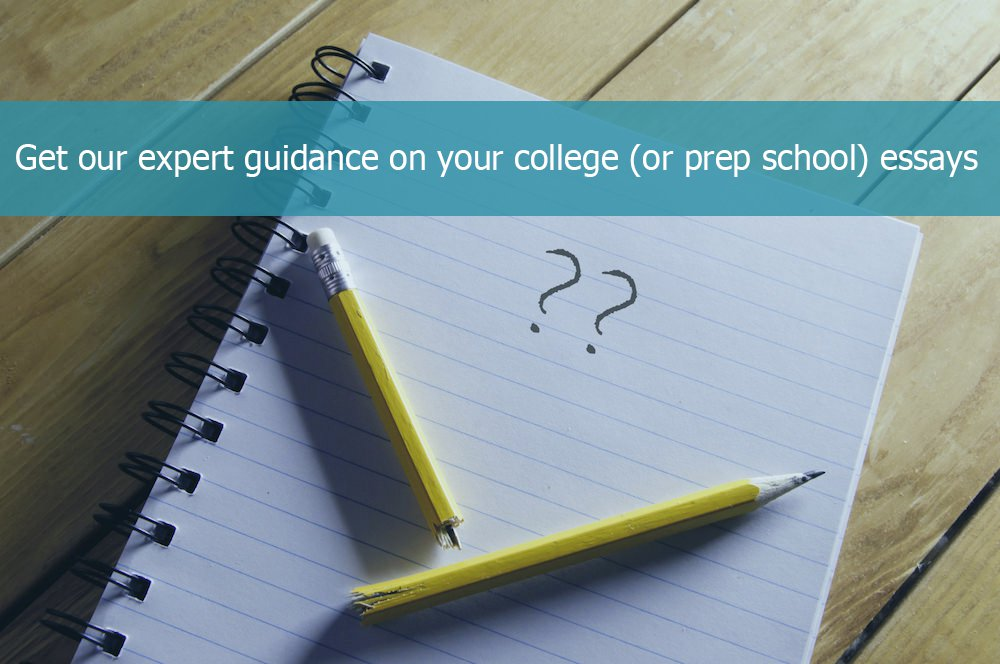 expert college admissions essay guidance