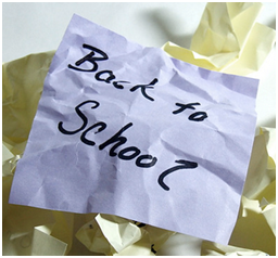 Back To School College Admissions checklist