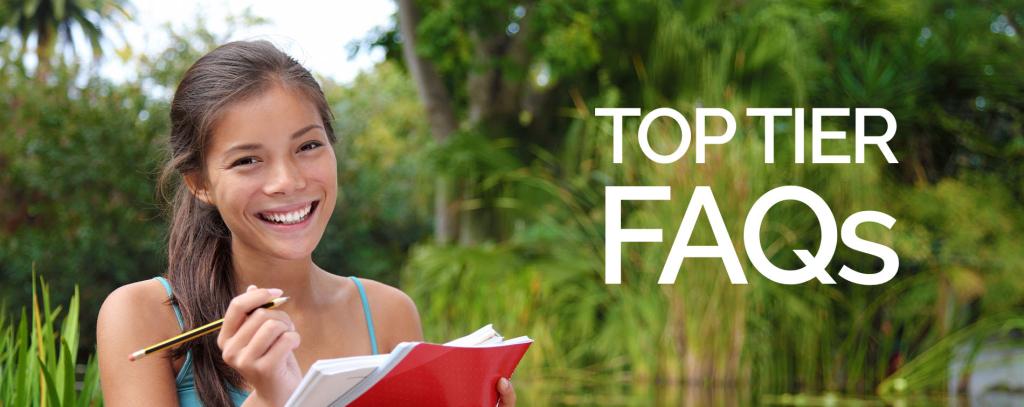 college admissions faqs