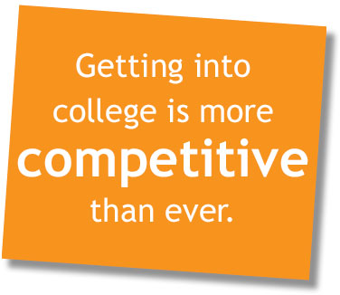 Competitive Early Round college admissions