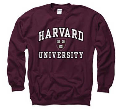 Harvard sweatshirt - ivy league college student holiday gift