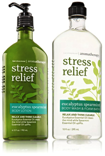 stress relief lotion - college student holiday gift guide