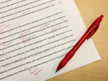 college application essay errors