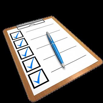 college transfer checklist