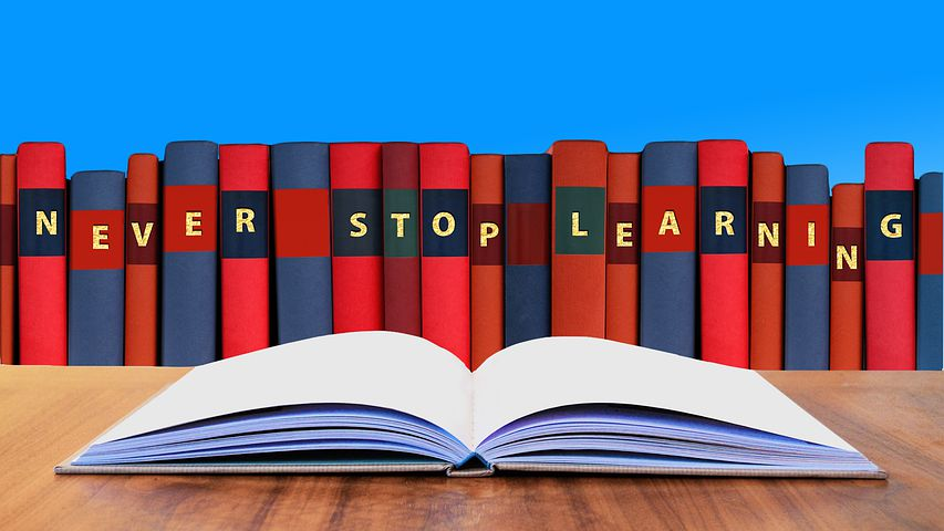 never stop learning - grad school admissions