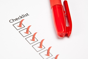 College Application Review Program Checklist