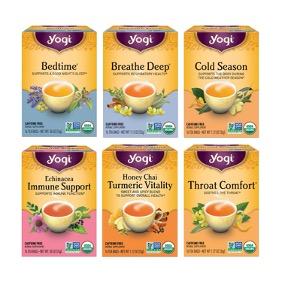 Yogi Tea: Get Well Variety Pack Sampler